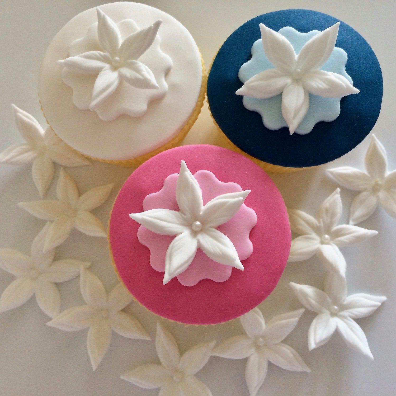 White Cupcake Petals