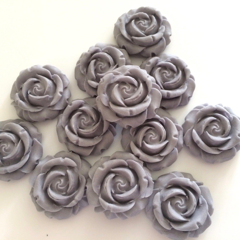 Grey Sugar Roses