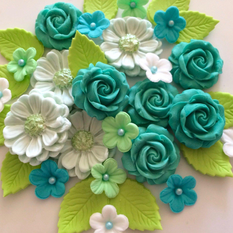 Jade Green Rose Bouquet