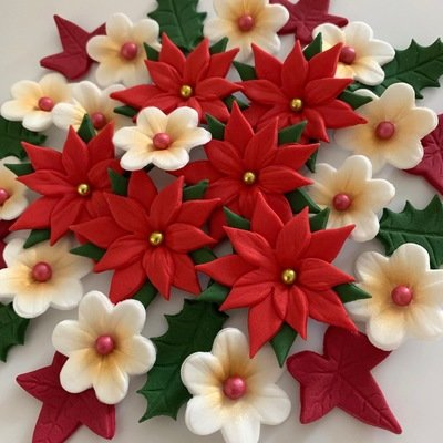 Red Poinsettia Bouquet