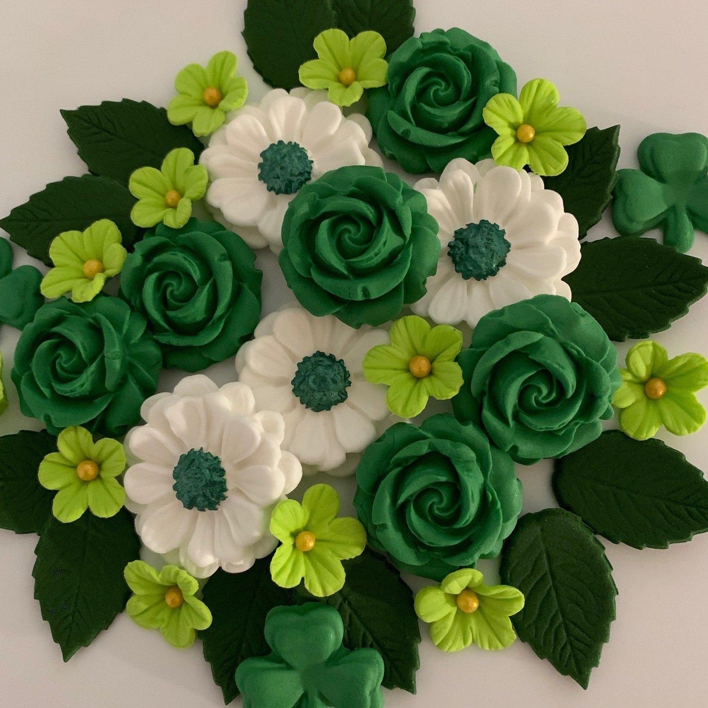 Emerald Green Rose Bouquet
