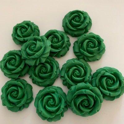 Emerald Green Roses