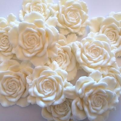 Large Cream Rose