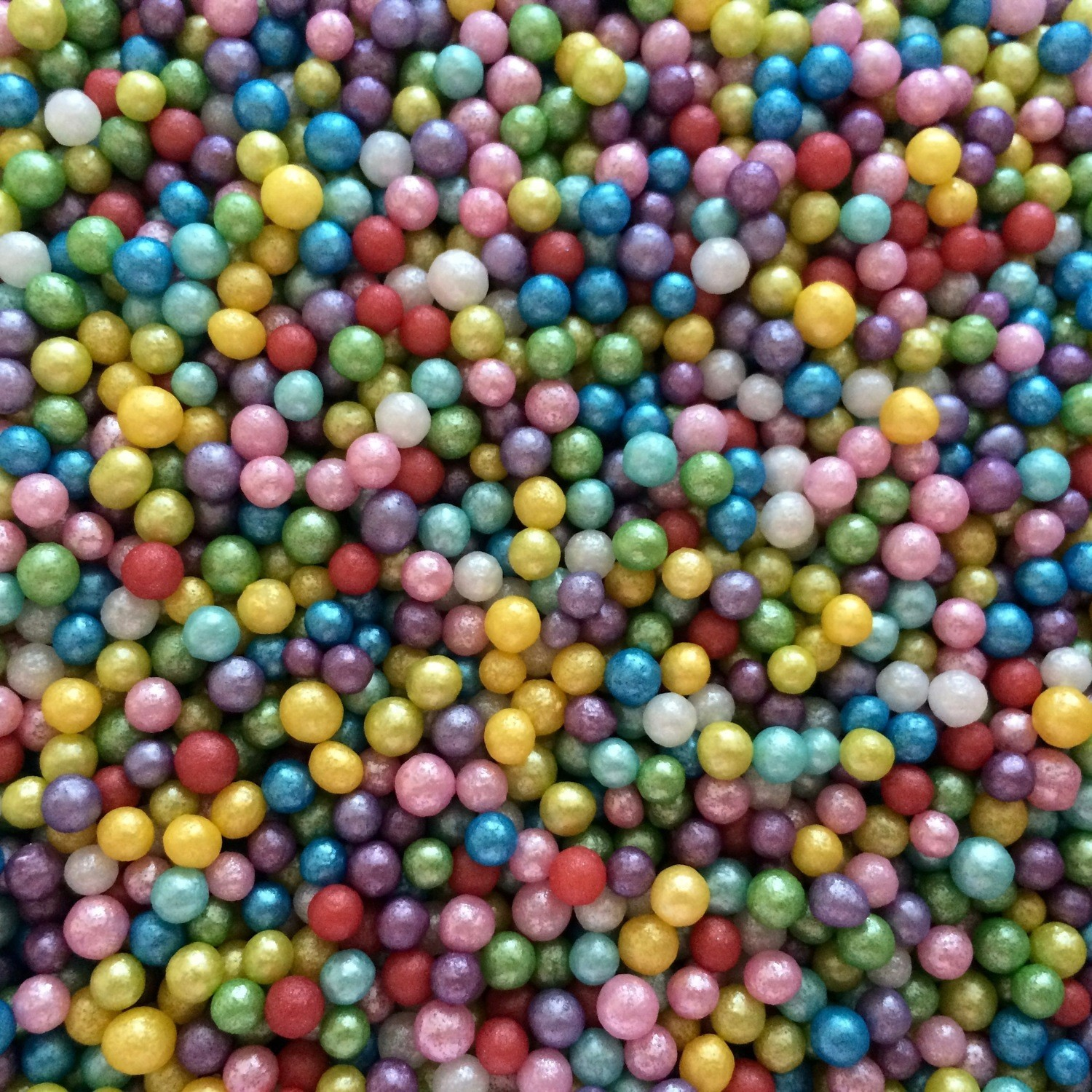Rainbow Sugar Pearls