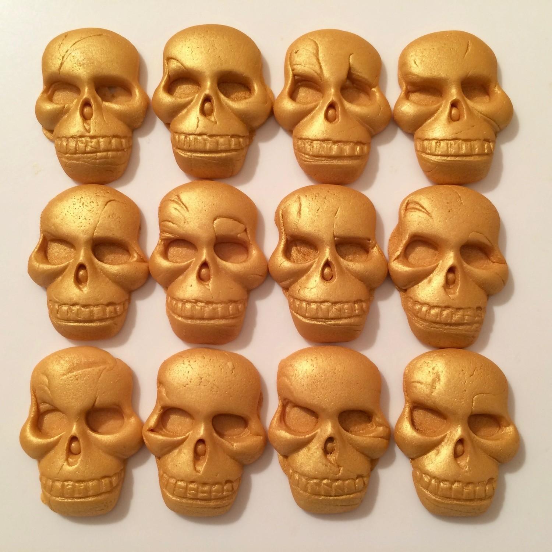 Gold Skulls