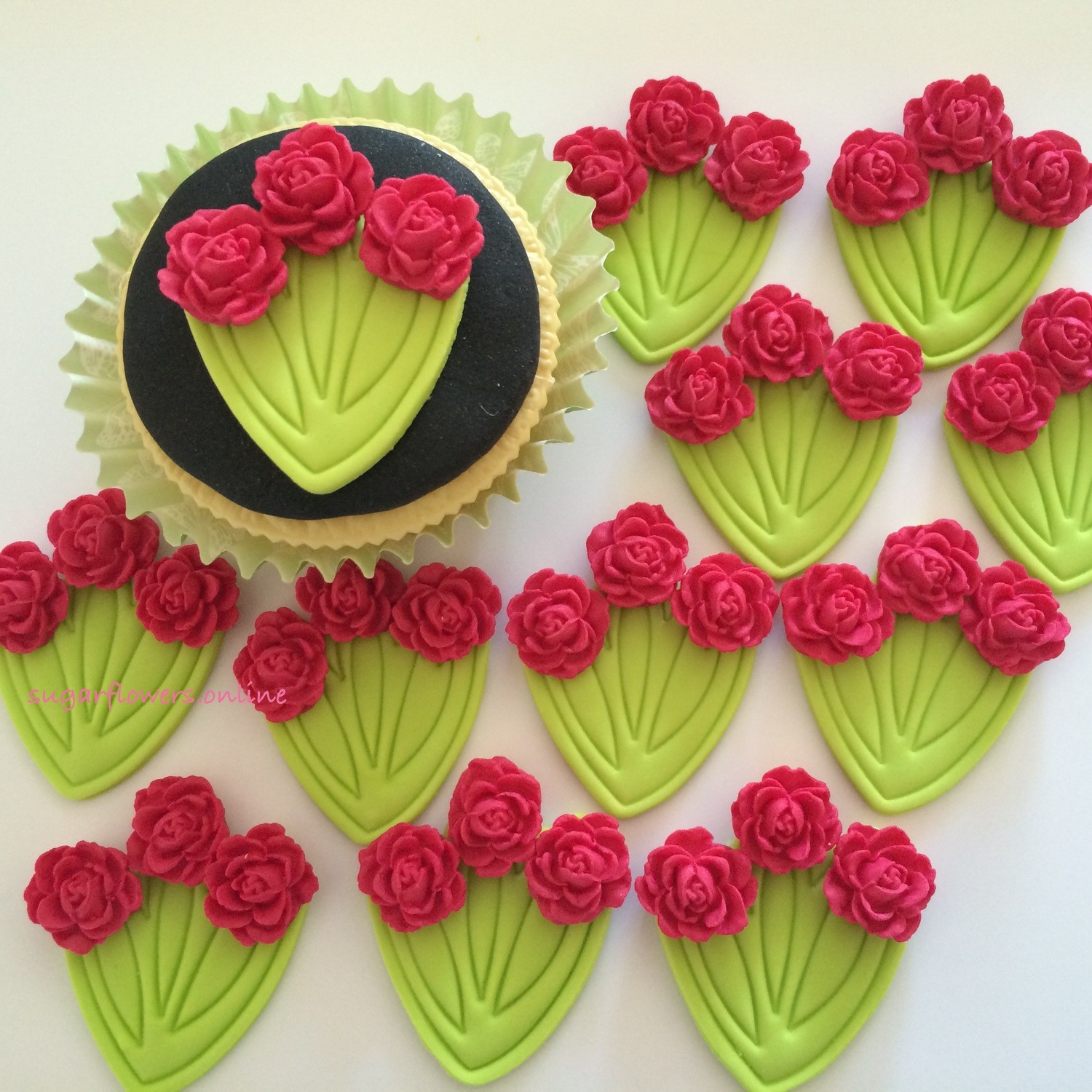 Red Rose Bunches