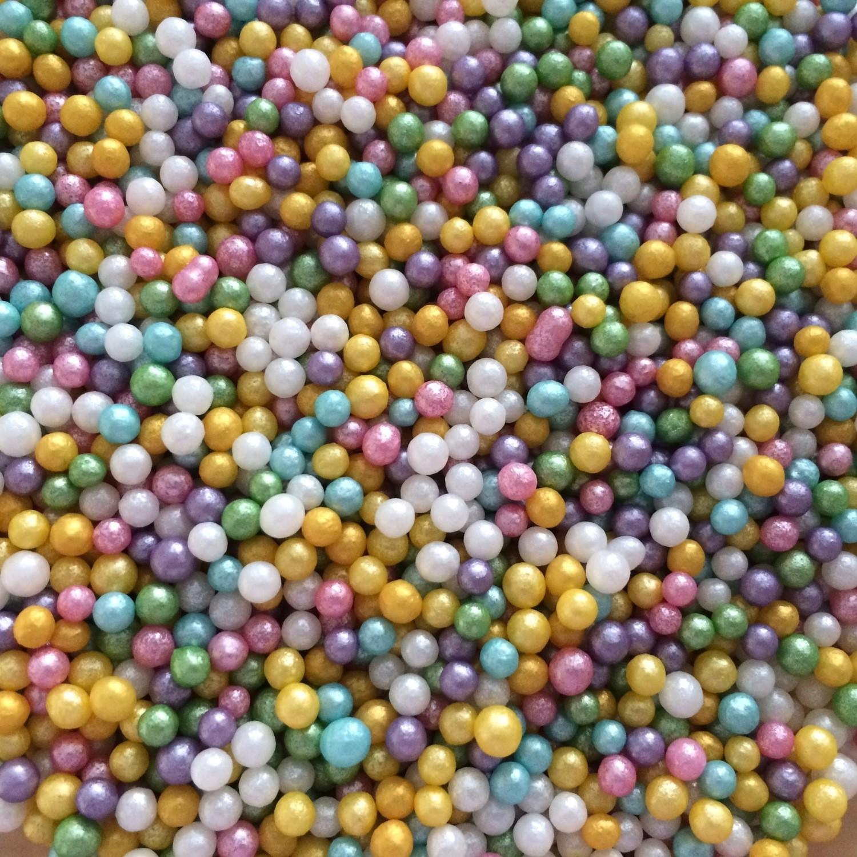 Pastel Sugar Pearls