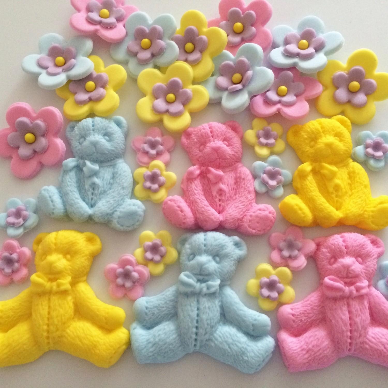 Baby Flowers & Bears