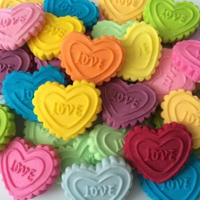 Love Sugar Hearts