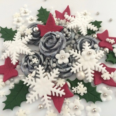 Silver Christmas Bouquet
