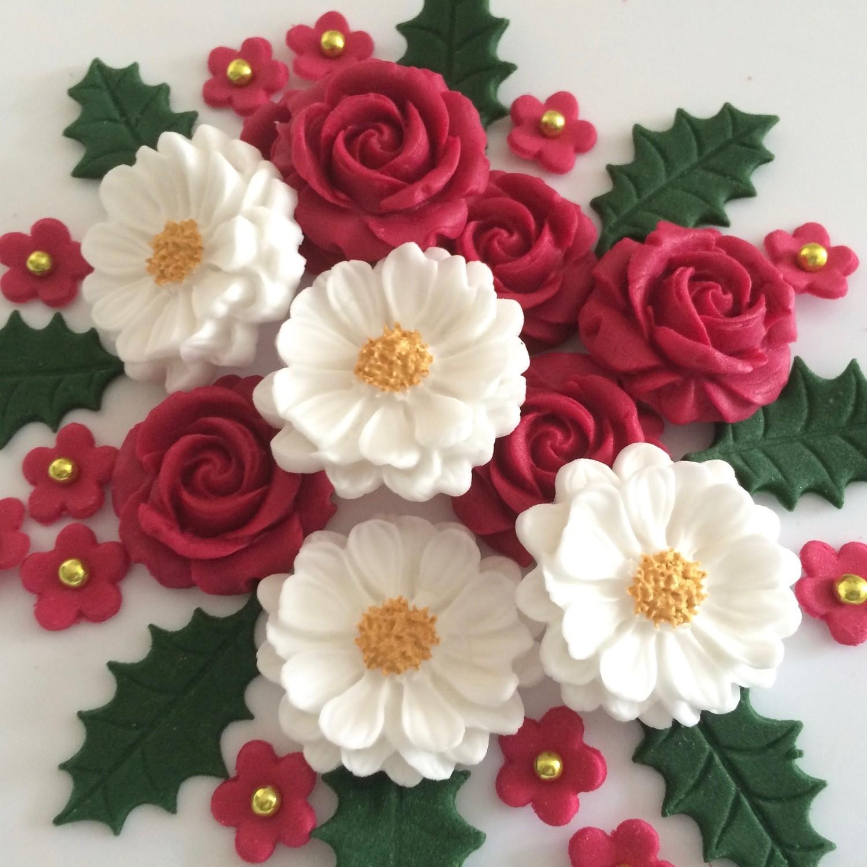 Christmas Rose Bouquet