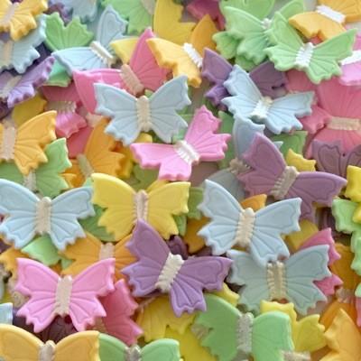 Pastel Butterflies