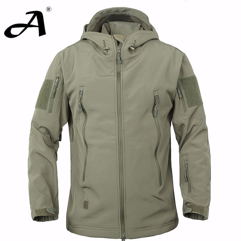 Army Camouflage Coat Military Jacket