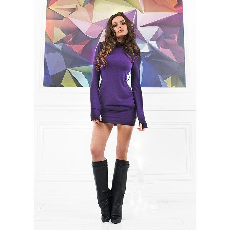 women warm dress winter clothes