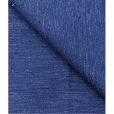 Arvind 100% Cotton dark BLUE Denim Unstitched Stretchable Jeans Fabric