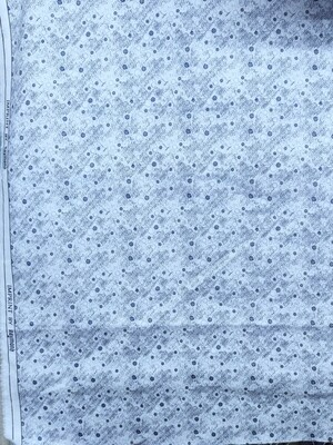 Raymond neavy Blue designer printed shirt Fabric