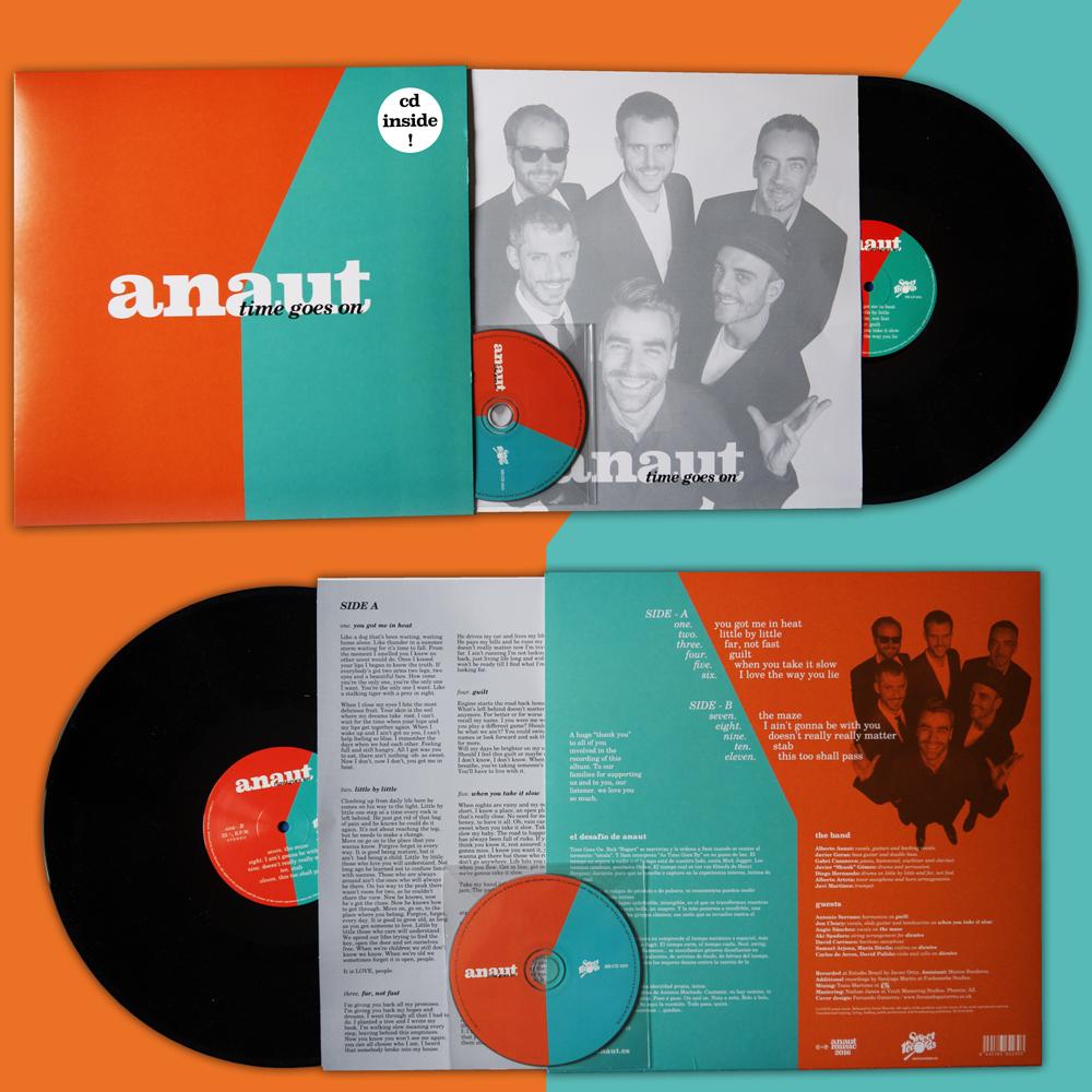 "LP VINYL ""TIME GOES ON"" (includes cd / incluye CD) LP VINILO time goes on"