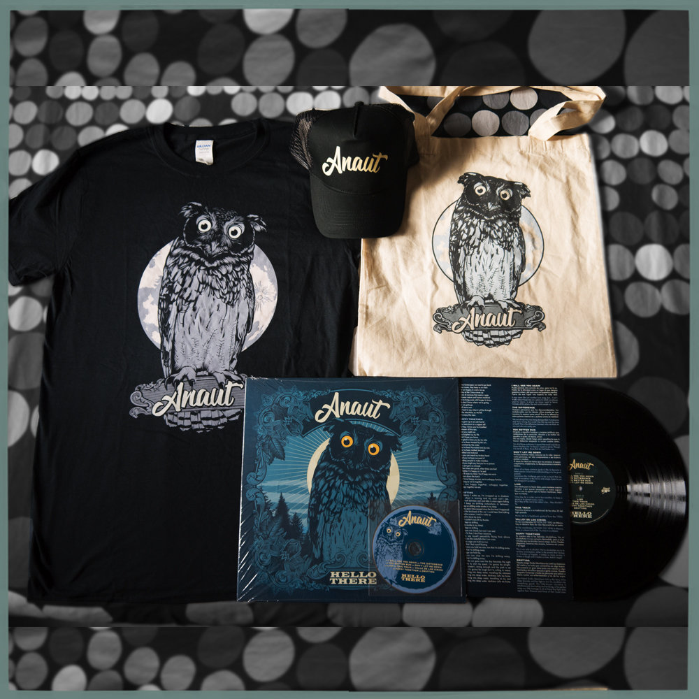 "OFERTA PACK ""HELLO THERE"" LP+CAMISETA+BOLSA+GORRA 00005"