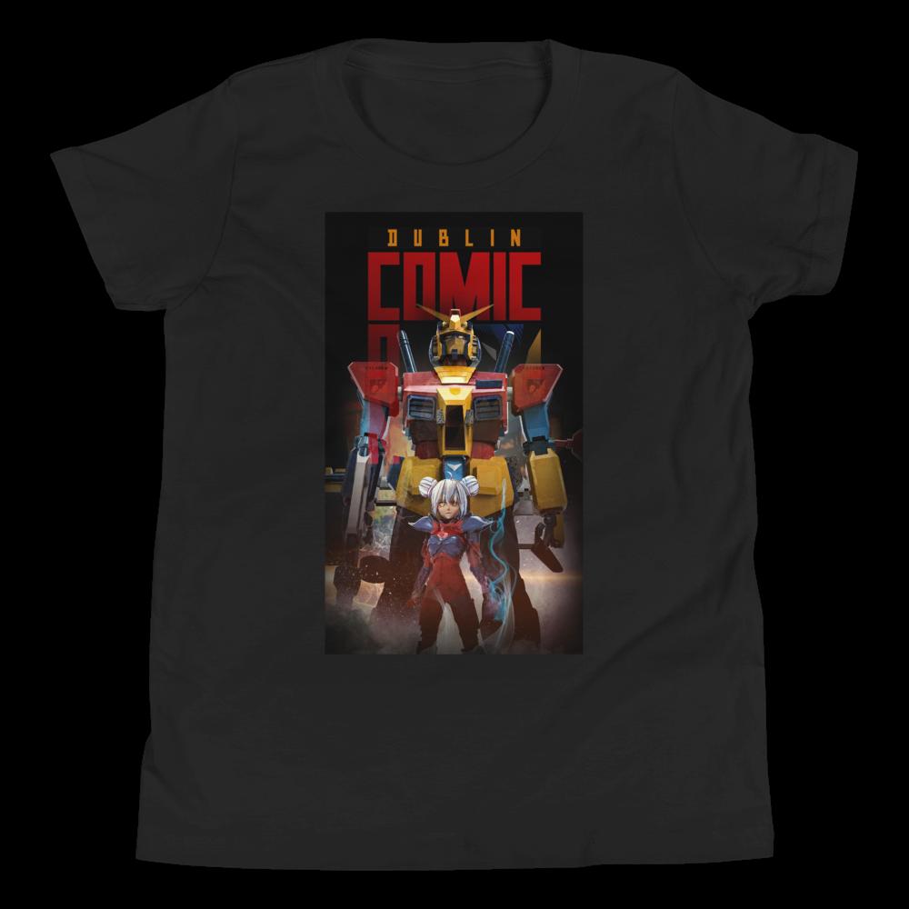 DCC Robot Logo - Youth Short Sleeve T-Shirt