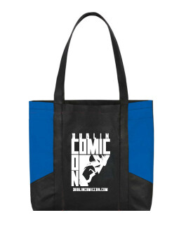 DCC Non Woven Tote Bag with side pockets