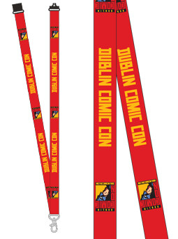 DCC Red Lanyards (Dublin Stock)