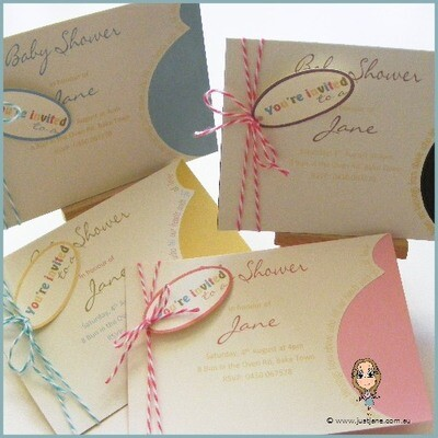 Great Expectations Baby Shower Invitation x 10