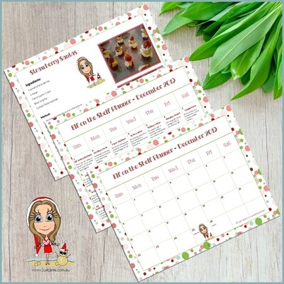 Elf on the Shelf Downloadable Planner 2019