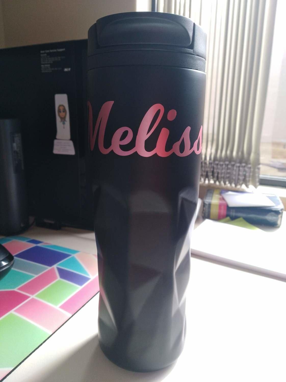 Melissa's Custom Order