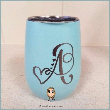 Monogram Vinyl Label/Decal