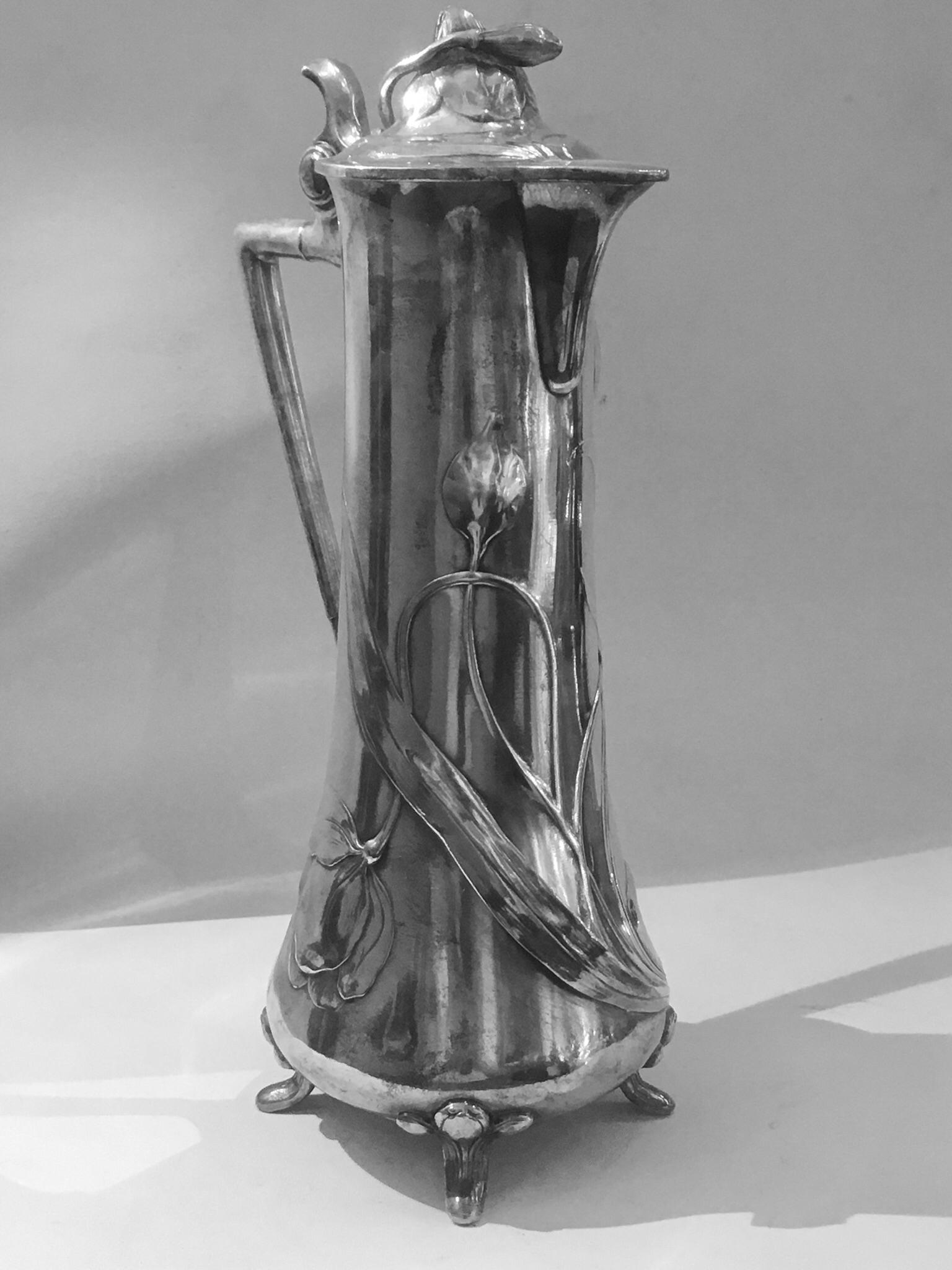 Antiquitäten & Kunst Sporting Bronze Figur Justitia Auf Marmor Podest Original Bronze Um1920