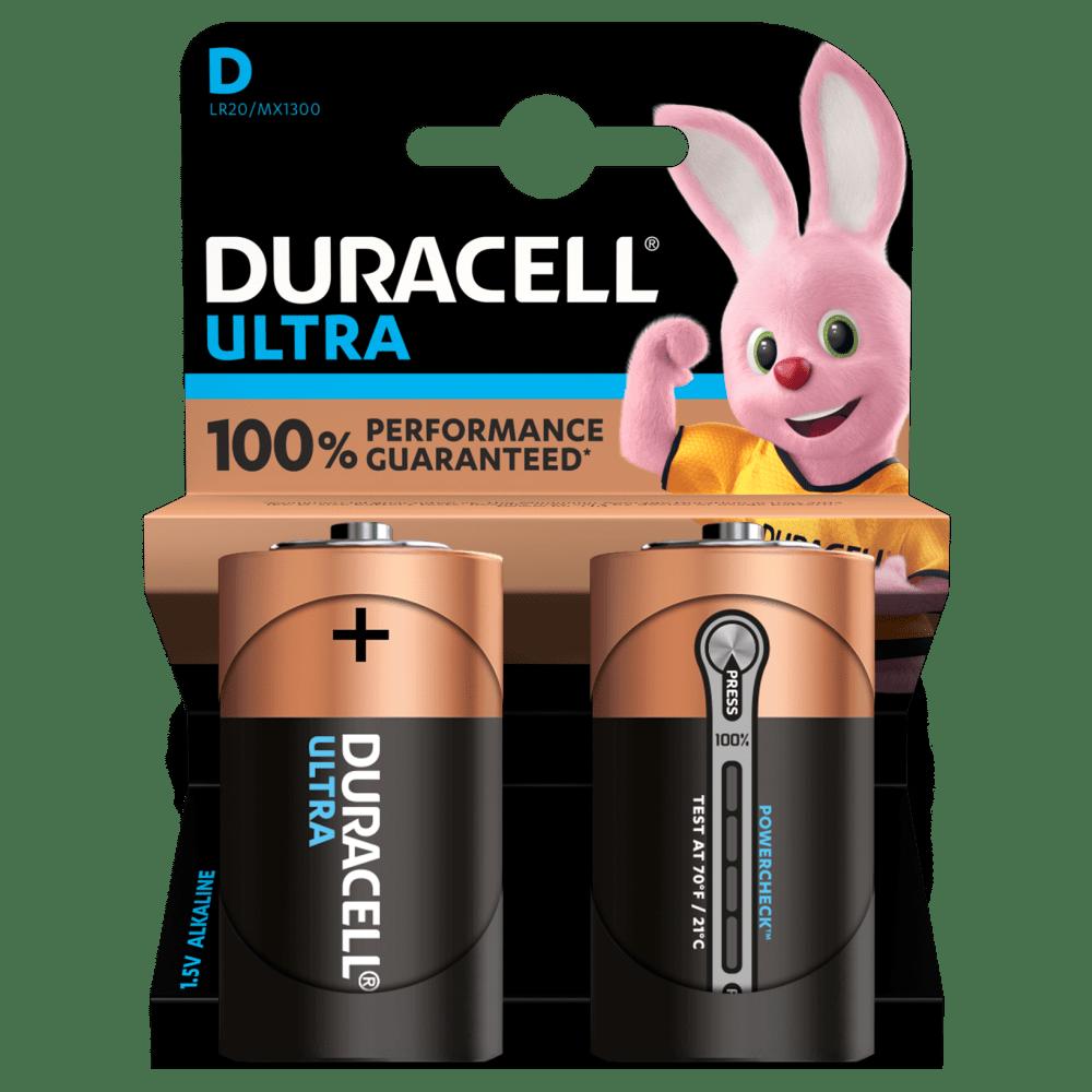 D Duracell Ultra