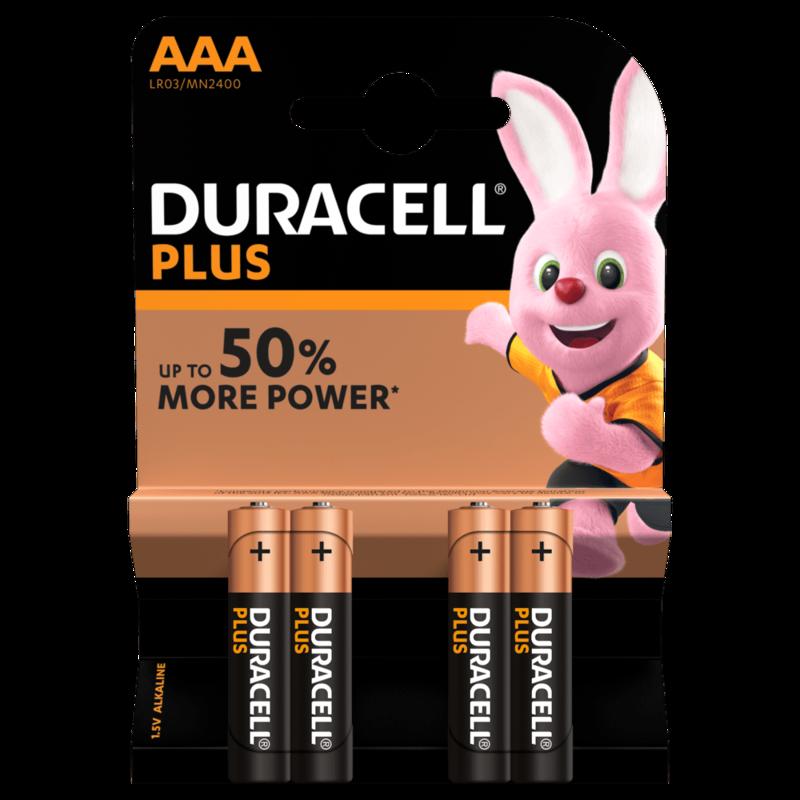 AAA Duracell Plus