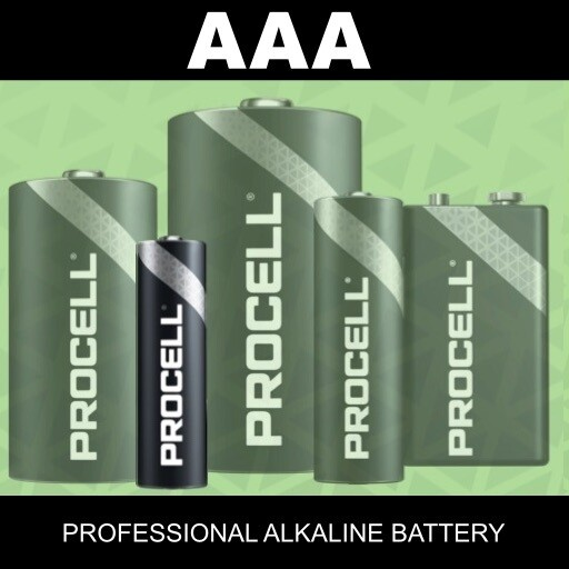 AAA Duracell Procell
