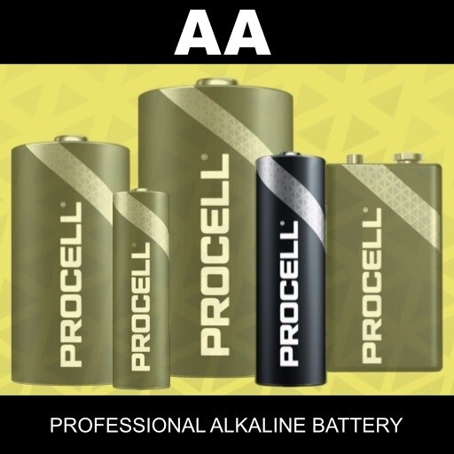 AA Duracell Procell