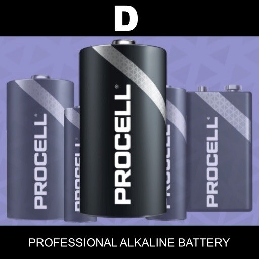 D Duracell Procell