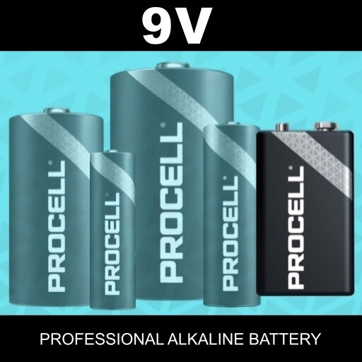 9V Duracell Procell