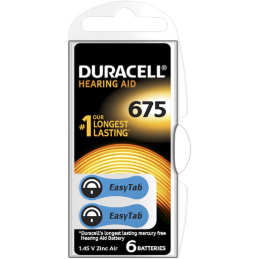 Blister a partir de 2,35€+IVA - 675 Hearing-Aid Duracell