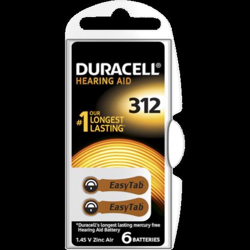Blister a partir de 2,04€+IVA - 312 Hearing-Aid Duracell