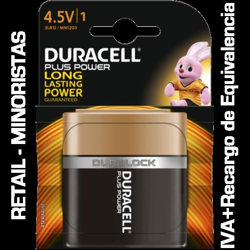 4.5V Duracell Plus Power