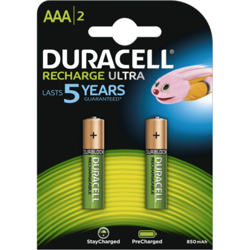 AAA Duracell Pre-Charged B2