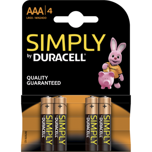 AAA Duracell Simply