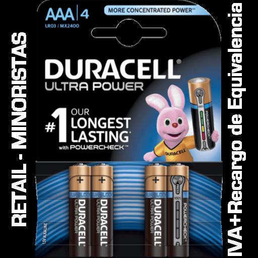 AAA Duracell Ultra Power