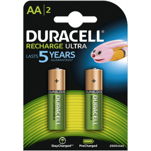 AA Duracell Pre-Charged