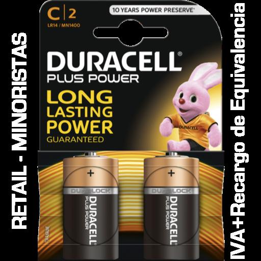 C Duracell Plus Power