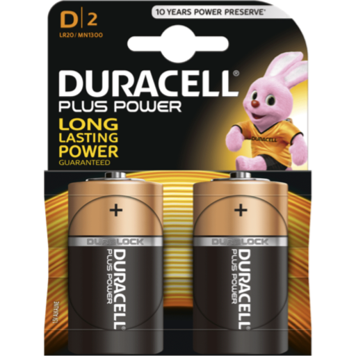 D Duracell Plus Power