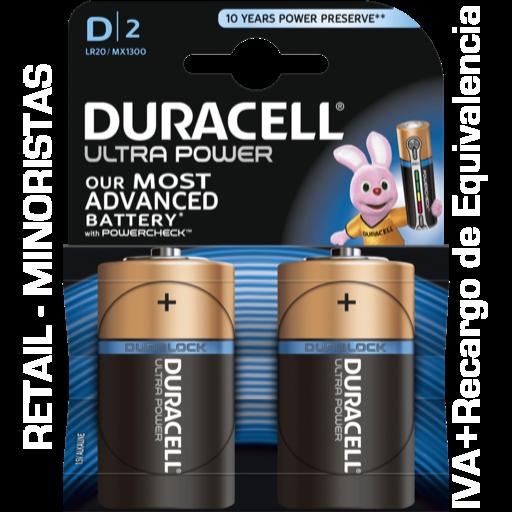 D Duracell Ultra Power