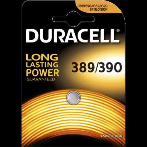 Blister a partir de 1,07€+IVA - 389-390 pila Duracell