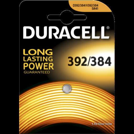Blister a partir de 0,77€+IVA - 392-384 pila Duracell