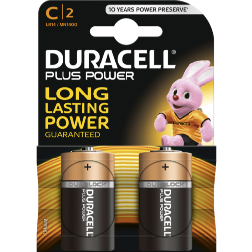 C Duracell Plus Power