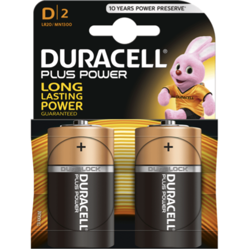 D Duracell Plus Power